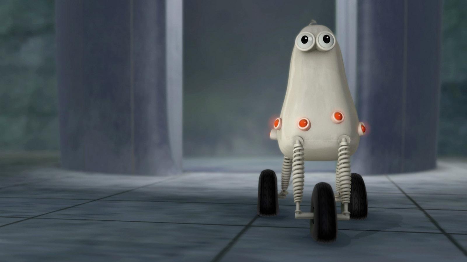 robot 3d character