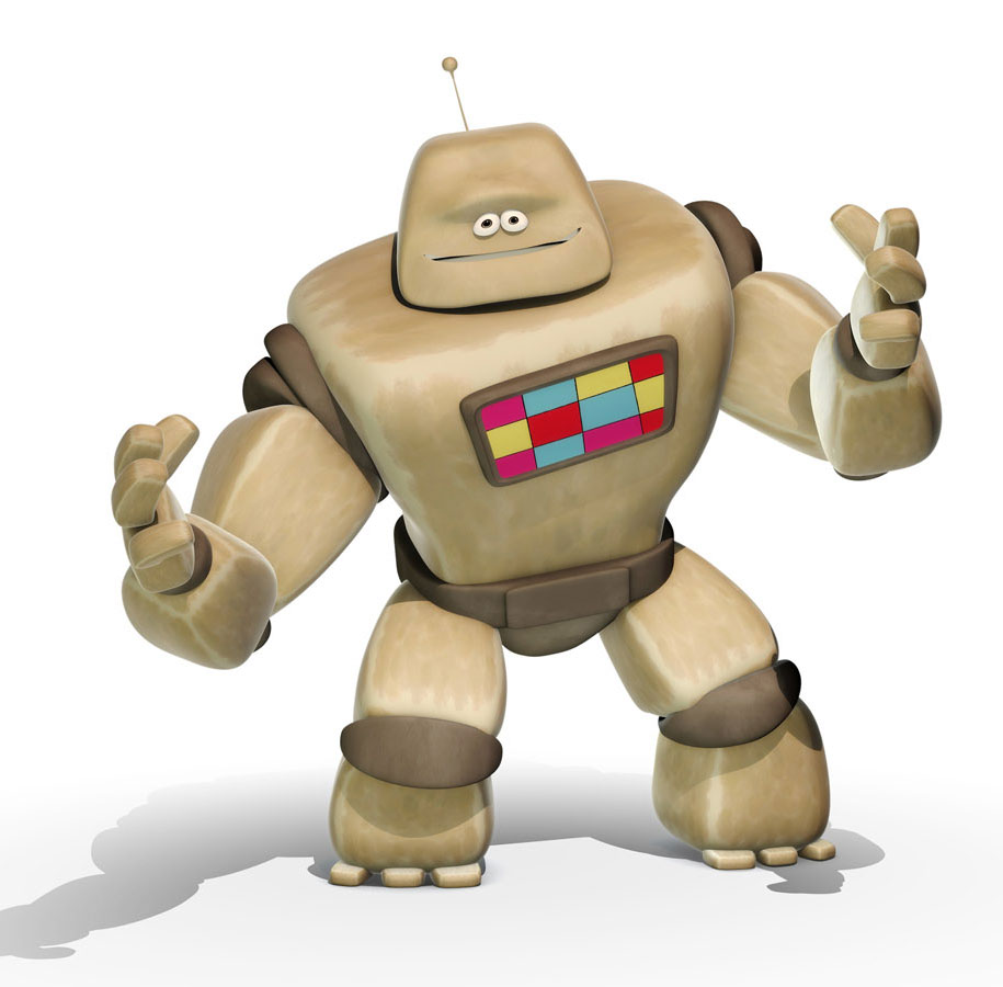 Robot kids cartoon character