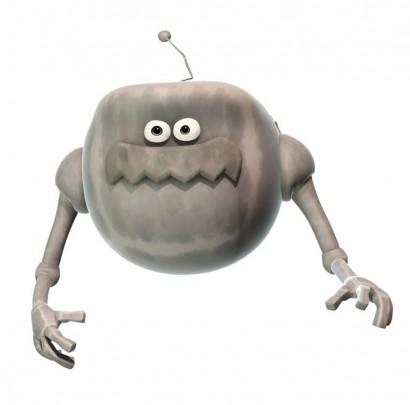 Hover Robot cartoon for children