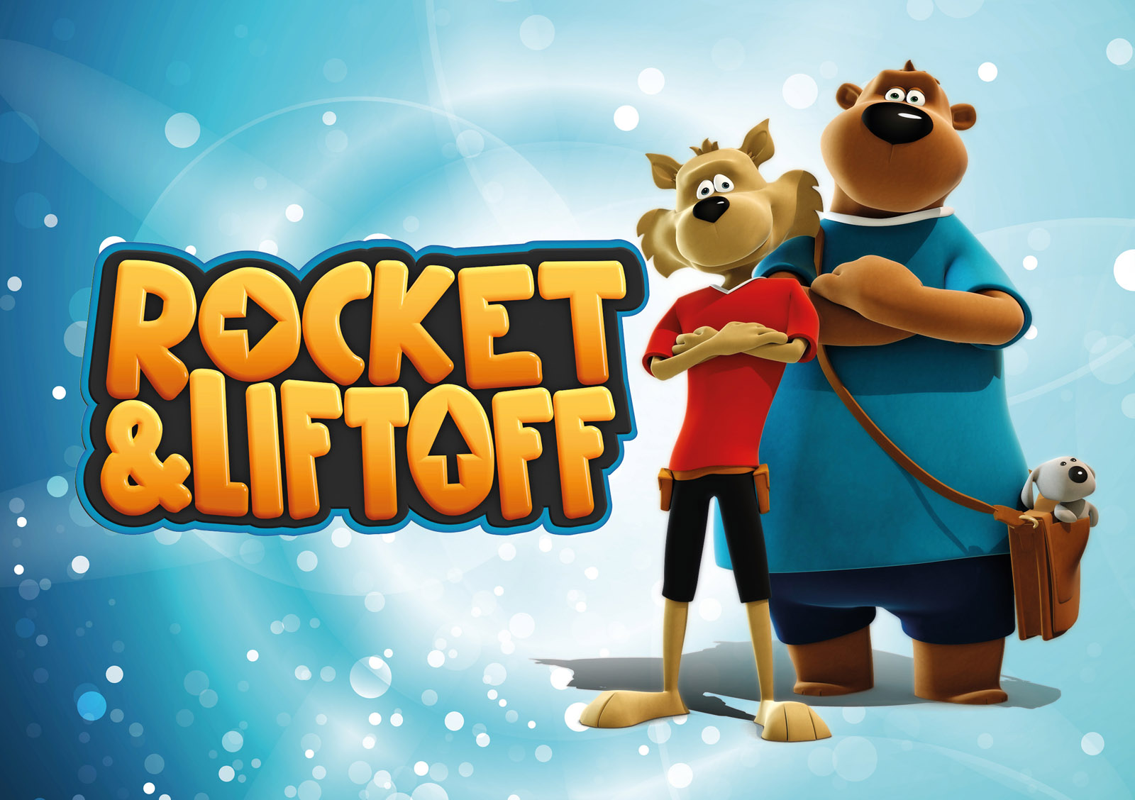Rocket&Liftoff children's cartoon