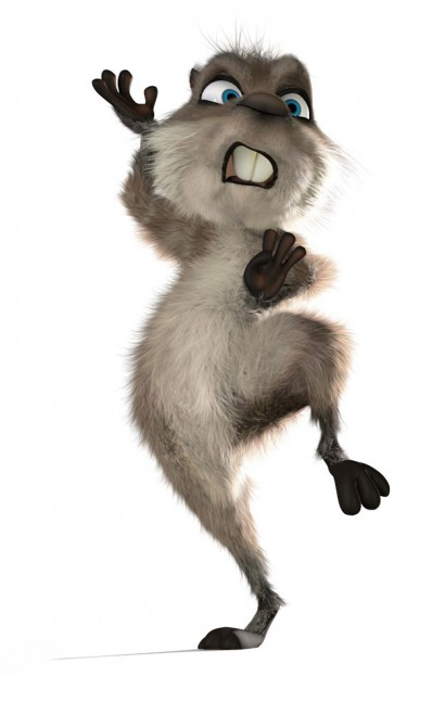 furry 3d cartoon character