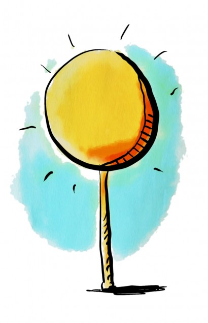 lollipop children's illustration
